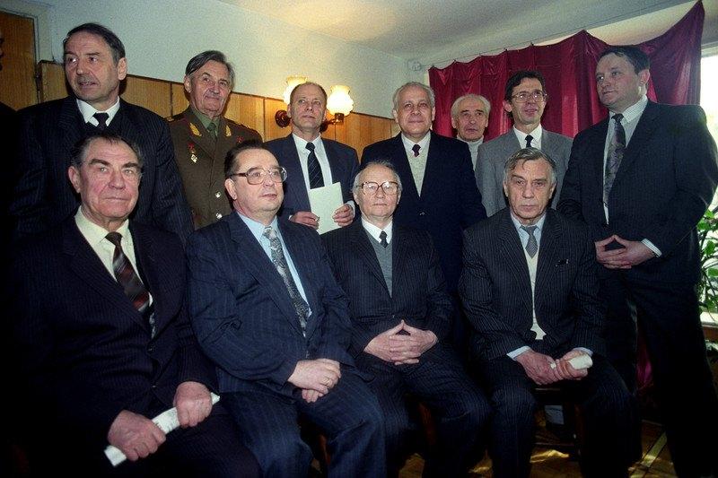 Учасники Державного комітету з надзвичайного стану. Варенников другий ліворуч