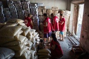 Геращенко: украинская гуманитарная помощь жителям востока передана Красному Кресту