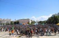 Кияни беруть участь у велопараді