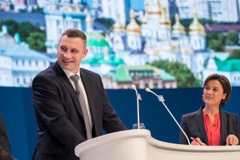 Кличко на Дне немецкой экономики во Франкфурте рассказал о реформах, которые проводит Киев