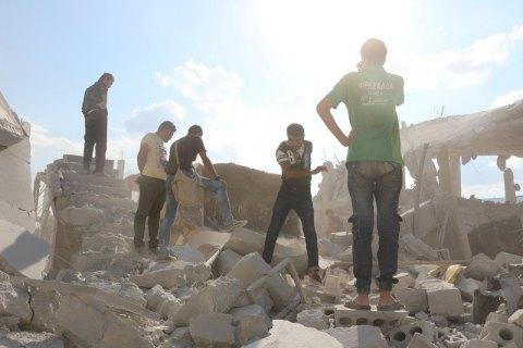 Жертвами авиударов по сирийской деревне стали 19 человек, - правозащитники