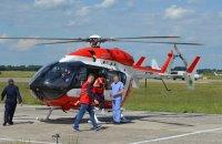 ДСНС і медбригади МВС відпрацювали евакуацію постраждалих по повітрю
