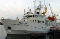 Единственное научно-исследовательское судно Минприроды, которое простаивало с 2010 года, начали ремонтировать