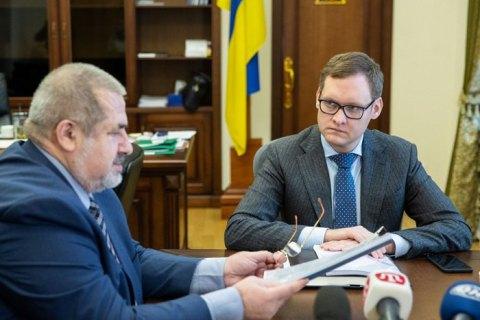 Офіс президента передав Меджлісу розсекречені документи про депортацію кримських татар