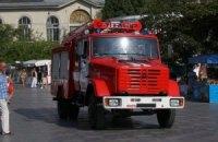 Украинские спасатели получили в подарок британские пожарные машины