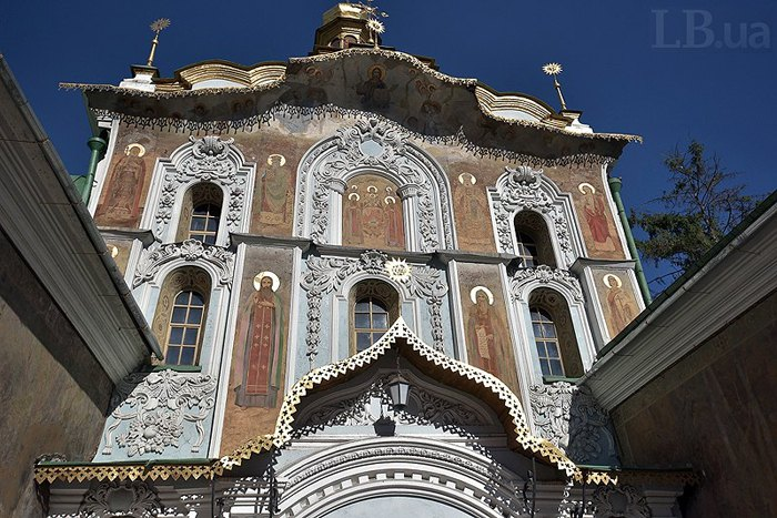 Троїцька надбрамна церква Києво-Печерської Лаври