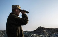 На Донбассе произошел один обстрел