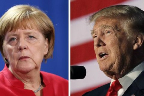 Трамп иМеркель перенесли встречу вВашингтоне из-за снегопада