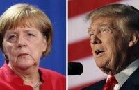 Встречу Меркель и Трампа перенесли из-за непогоды