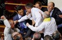 Опозиція обіцяє завтра нову бійку в парламенті