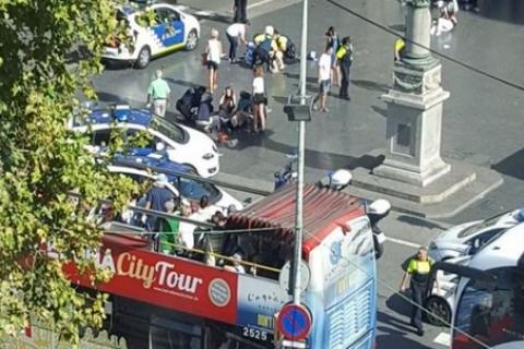 МЗС перевіряє інформацію про наявність українців серед постраждалих у результаті теракту в Барселоні