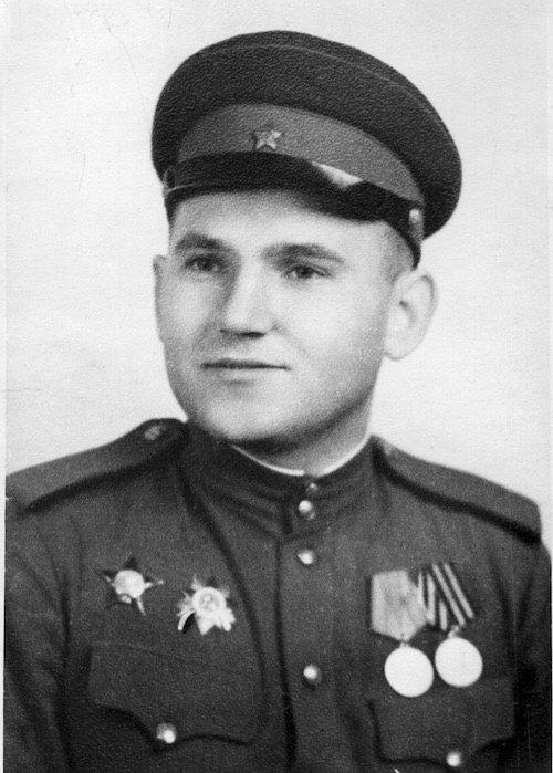 Николай Ризоль. Берлин, 1945
