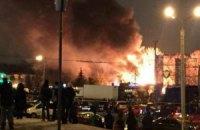 У Харкові загорілося кафе. Очевидці кажуть про вибух