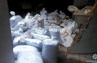 В Конотопе изъяли 700 мешков с маковой соломкой, которую продавали в продуктовом магазине