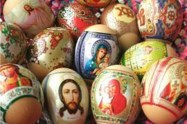 Епископ УПЦ просит не украшать яйца иконами