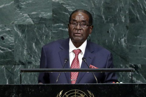Экс-президенту Зимбабве заплатят за отставку $ 10 млн, - The Guardian