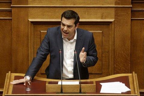 Прем'єр Греції запропонував своїй партії провести голосування за угодою з кредиторами
