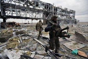 Боевики отошли от украинских позиций вблизи донецкого аэропорта