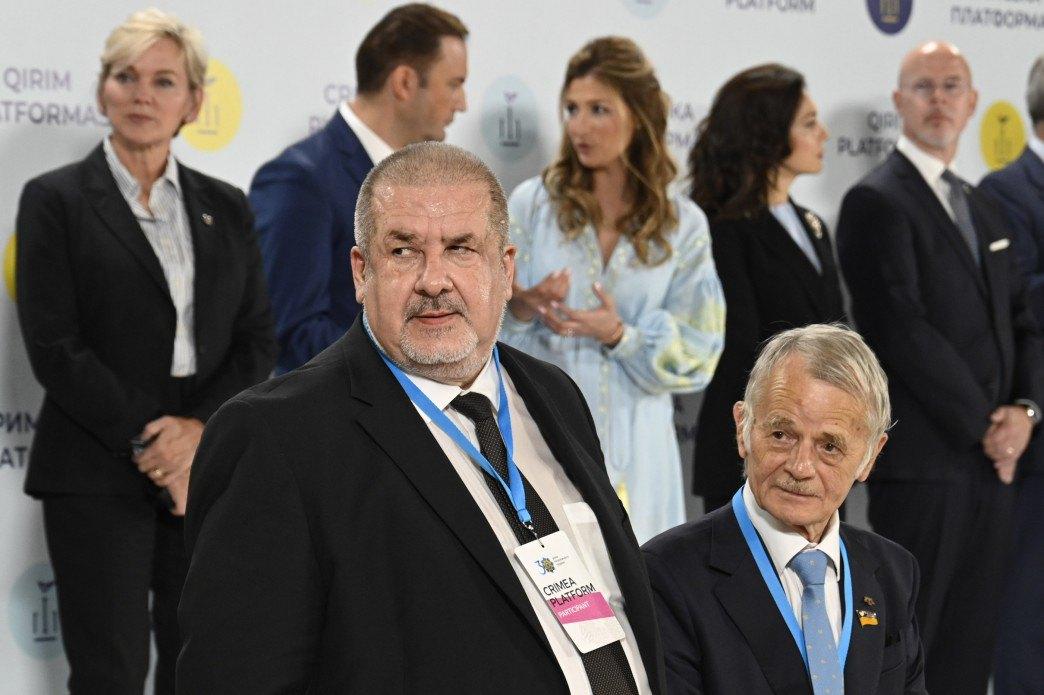 Мустафа Джемілєв (праворуч) і Рефат Чубаров