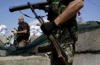 Боевики всю ночь обстреливали военных у Счастья