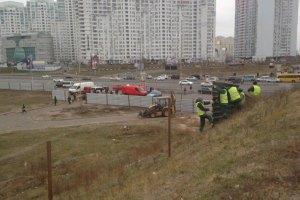 На скандальному будівництві на Осокорках міліція побила місцевих жителів (додано фото)