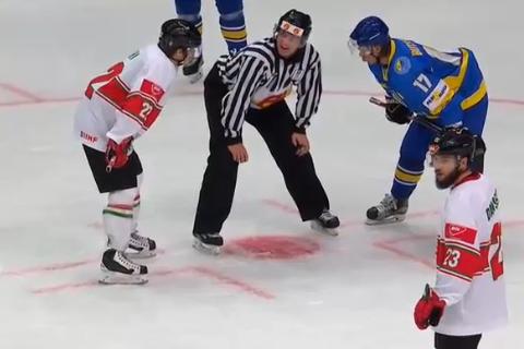 Сборная Украины по хоккею проиграла первый матч чемпионата мира в Киеве
