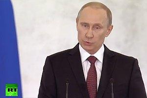 Путін: понад 95% кримчан зробили свій життєво важливий вибір