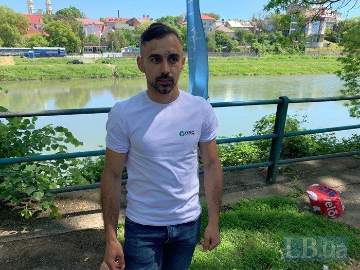 Богдан Соломко- підприємець з Виноградова