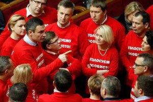 """Янукович хочет переложить ответственность за """"дело Тимошенко"""" на ВР, - УДАР"""