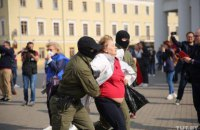 У Білорусі під час суботніх протестів затримали 114 осіб