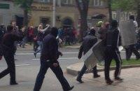 На мітингу в Донецьку контузило міліціонера, - ЗМІ