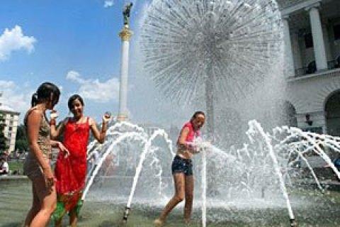 Во вторник в Киеве похолодает до +29