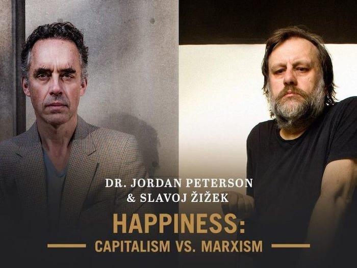 Джордан Питерсон против Славоя Жижека