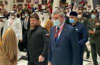 Уруського помітили біля Кадирова на виставці IDEX-2021 в Абу-Дабі