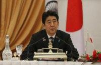 Сьогодні прем'єр-міністр Японії вперше відвідає Україну
