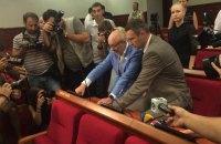 В Киевсовете заработала сенсорная кнопка