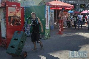 Київ демонтував 400 кіосків біля станцій метро і шкіл