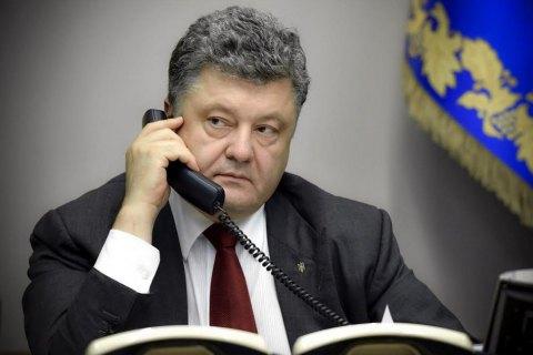 """Порошенко провел телефонный разговор в """"нормандском формате"""""""