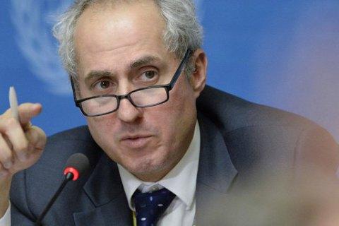Сайдик не согласовывал свой «мирный план» с ООН, - представитель Генсека