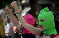 Pussy Riot поскаржилися в Страсбурзький суд через напад козаків у Сочі у 2014 році