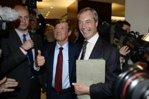 У Британії перемога на виборах у ЄП дісталася євроскептикам