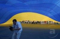 В Крыму неизвестные выкинули украинский флаг и заменили его советским