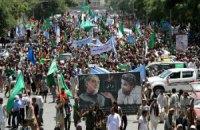 15 тысяч афганцев блокировали дворец Карзая