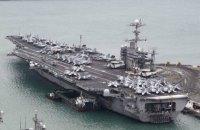 """США допускають відправлення до Корейського півострова двох авіаносців, - """"Синьхуа"""""""