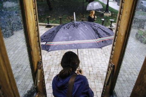 В Киеве в понедельник прогнозируют град