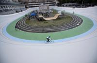 Киевский велотрек открыли после ремонта