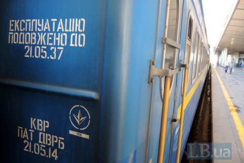 Третина пасажирських вагонів УЗ простоює через поломки і вік
