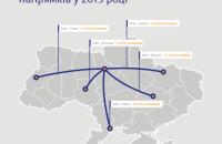 """""""Укрзалізниця"""" назвала найпопулярніші внутрішні рейси минулого року"""