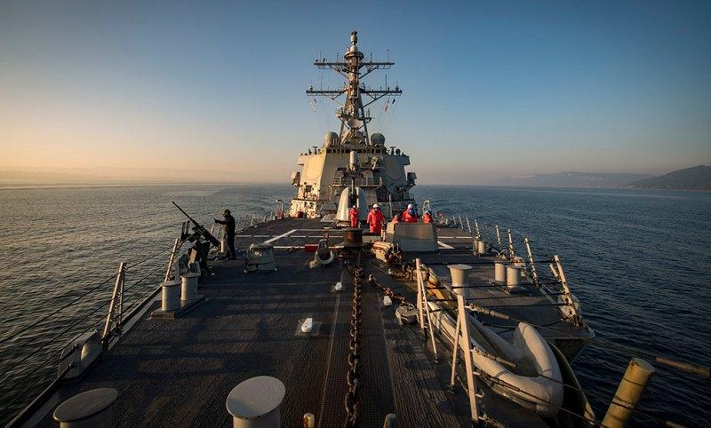 """Ракетный эсминец ВМС США """"Дональд Кук"""" (USS Donald Cook DDG75)"""