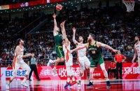 У драматичному матчі з двома овертаймами визначився перший фіналіст чемпіонату світу з баскетболу